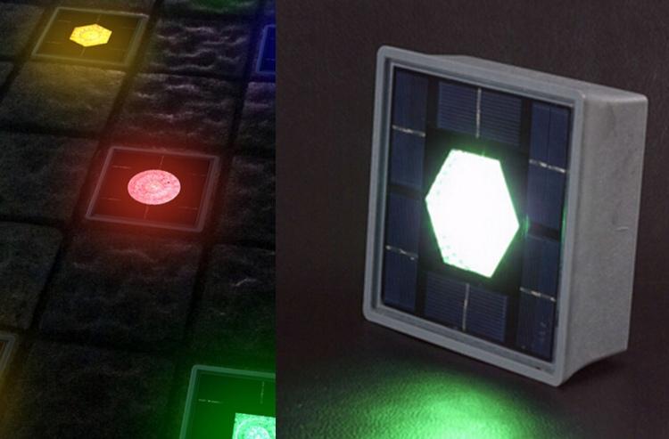 подсветка дорожек на солнечной батарее