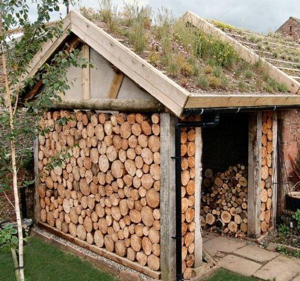 лучшие дрова в дровнике