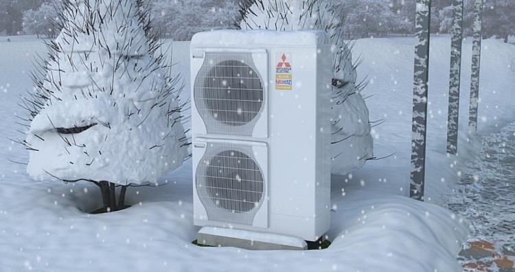 Тепловой насос воздух-воздух – экономия в разы при отоплении электричеством
