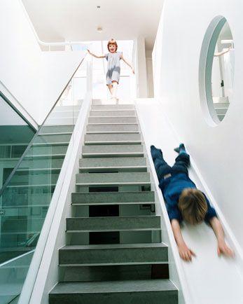 лестница с горкой