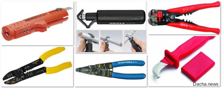 Чем снимать изоляцию с проводов: краткий обзор инструмента