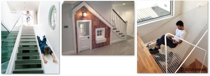 Лестницы в частном доме (25 оригинальных фото)
