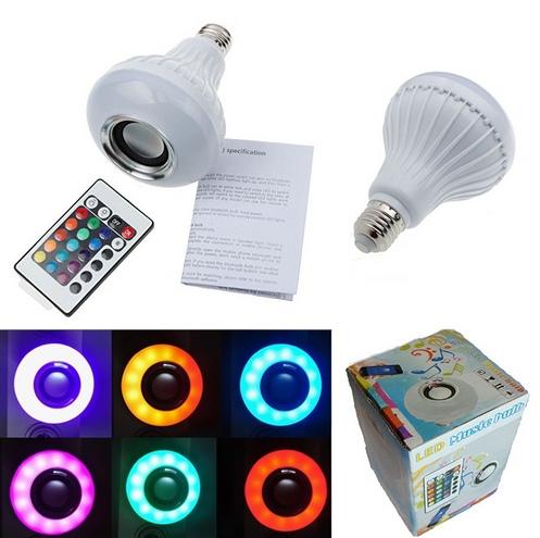 Bluetooth-лампа со встроенным динамиком