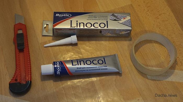 холодная сварка для линолеума linocol
