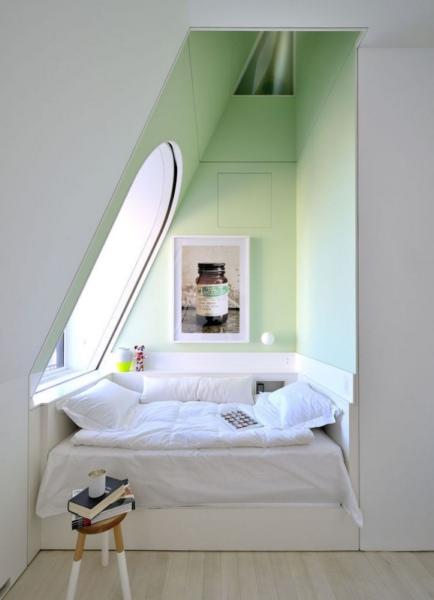 детская спальня на мансарде
