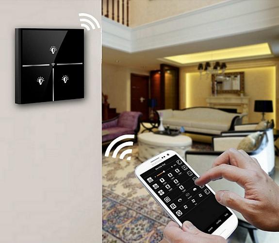 Сенсорный выключатель с Wi-Fi