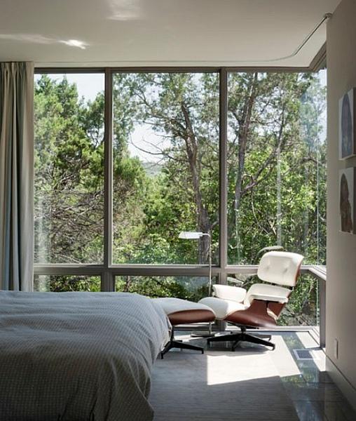 панорамное окно в спальне
