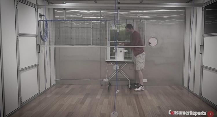комната для тестирования кондиционеров