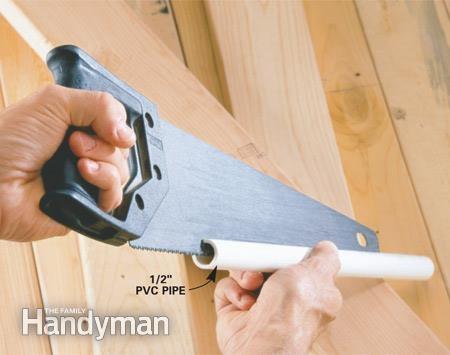 хранение инструмента ножовка