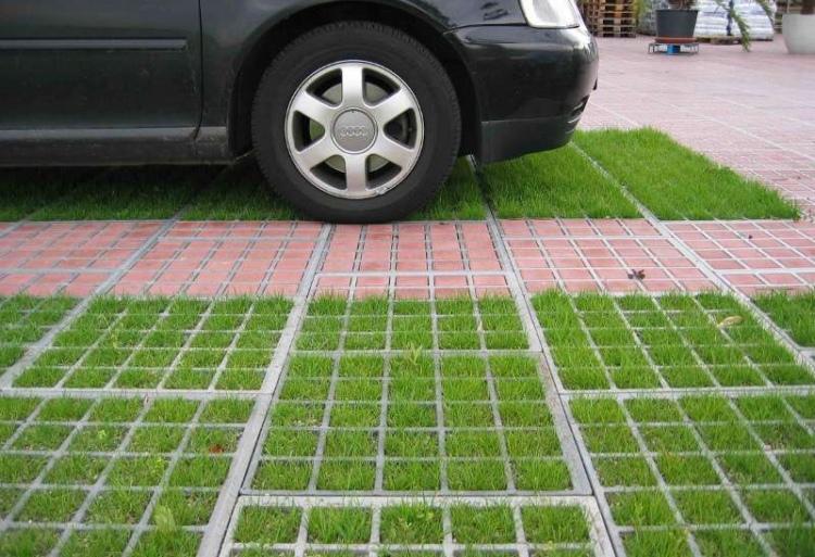 решетка для парковок