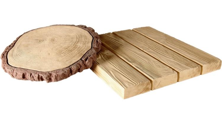 тротуарная плитка под дерево