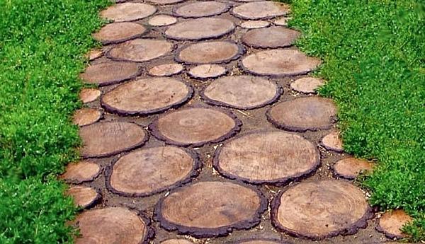 тротуарная плитка под пеньки