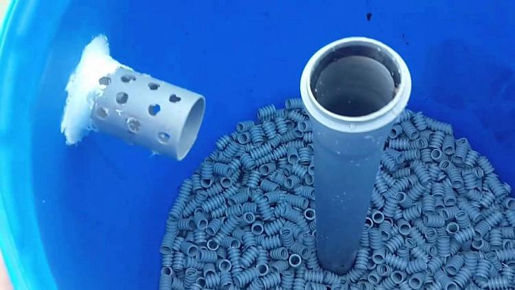 пластиковый наполнитель для биофильтров