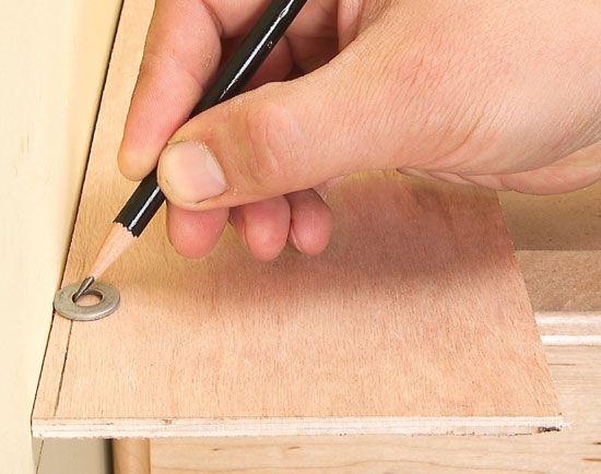 лайфхак совет точная разметка кривой стены