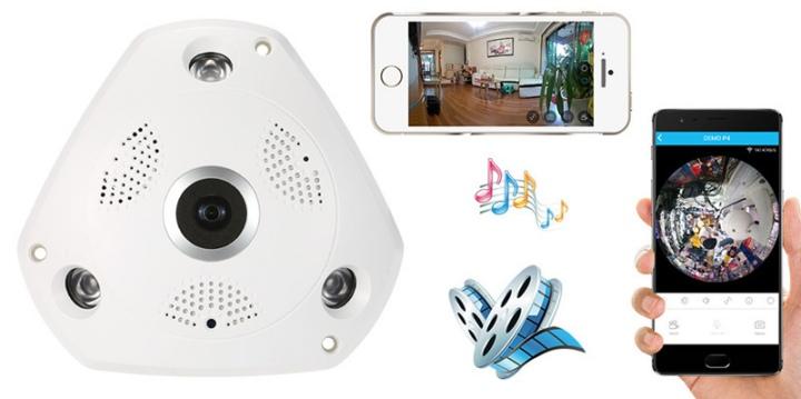 камера наблюдения 360