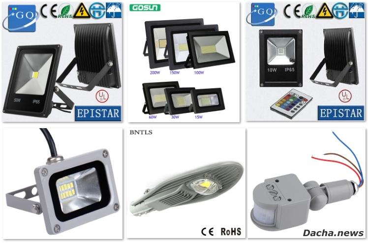 Лучшие светодиодные прожектора на Aliexpress