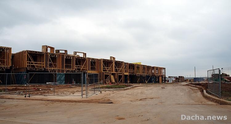 строительство большого каркасного дома в сша